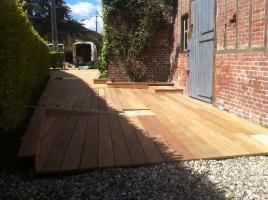 Terrasse bois Bernay