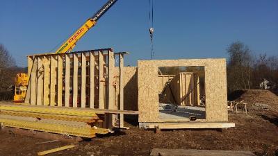 Construction habitation en bois Brionne