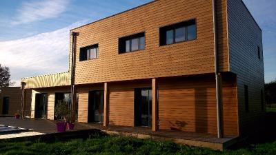 Maison en bois réalisations Rouen
