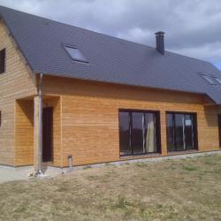 Montage maison en bois Brionne